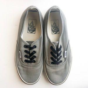 "Gray ""The Authentic"" Vans"